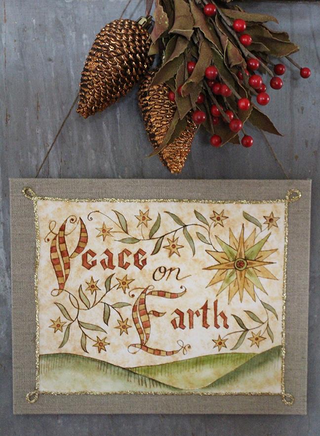 Peace on Earth Fraktur