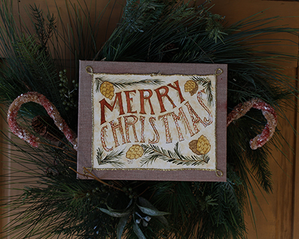 Merry Christmas Fraktur