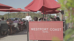 Westport Coast Hotel Courtyard