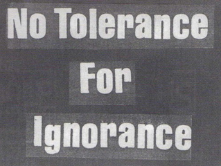 Ignorance Still Has a Platform!