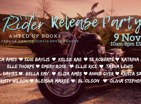 Safe Rider cover reveal party