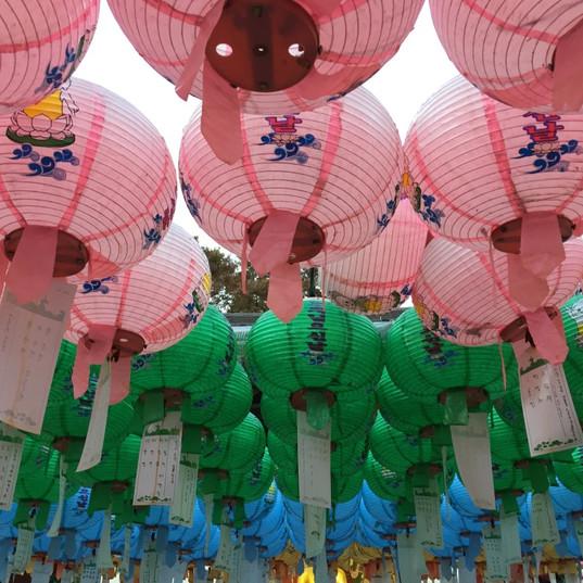 Buddahist Temple in Busan, South Korea
