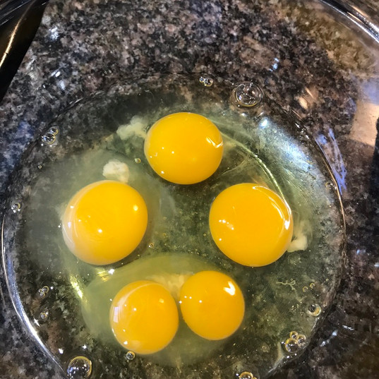 Twin yolks