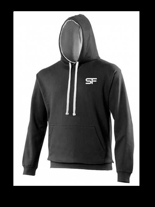 Spike Fitness Hoodie (Black/Grey)