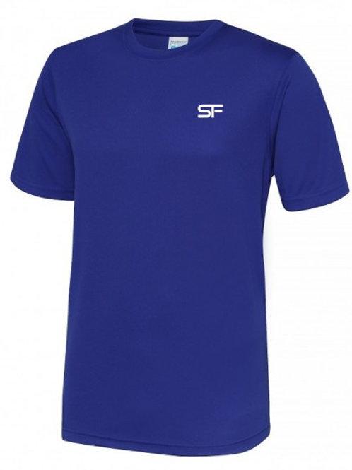 Spike Fitness Workout T-shirt (Blue)