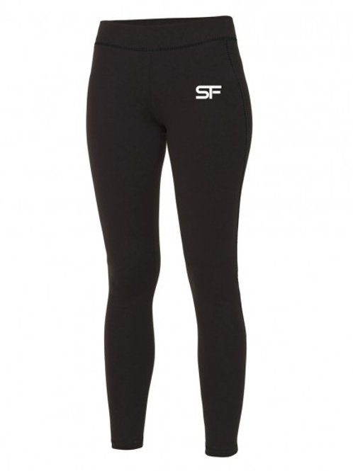 Spike Fitness Ladies Legging (Black)