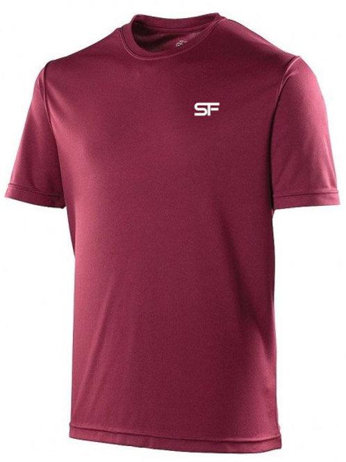 Spike Fitness Workout T-shirt (Burgundy)
