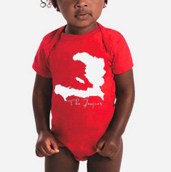 Baby Haiti Onsie