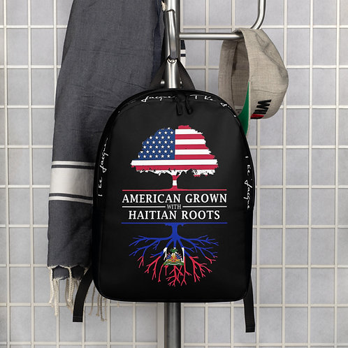 American Grown Haitian Roots Back Pack