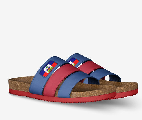Womens Haiti Striped Sandels