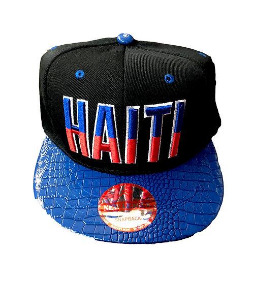 Haiti Snake Skin Hat