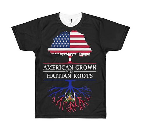 Haitian American Tee
