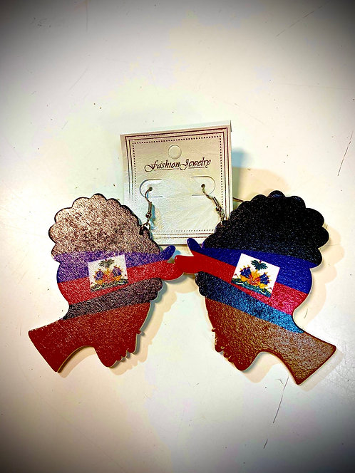 Haitian Mother Earrings