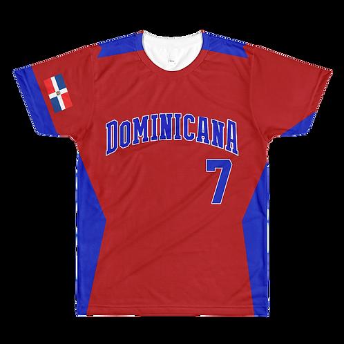 Dominicana Baseball Tee