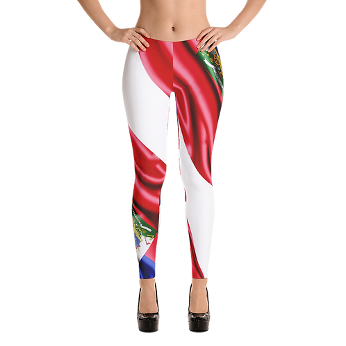 Printed Flag Leggings