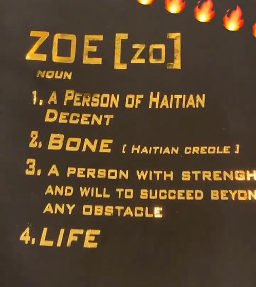 ZOE Liquid GOLD Tee