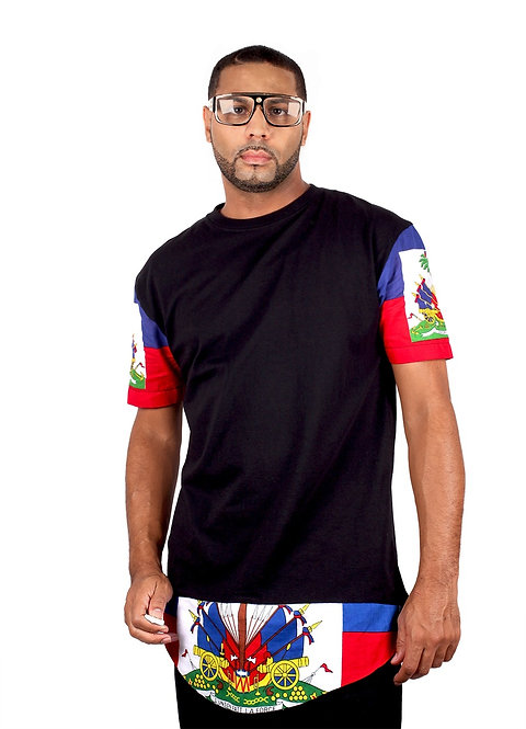Country Flag Long Hem