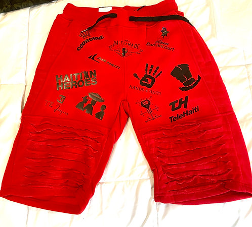 Haiti Greats Logo Shorts