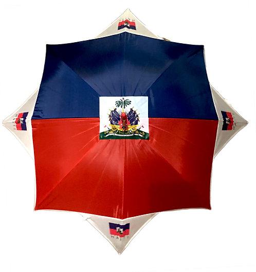 Haiti Flag Umbrella