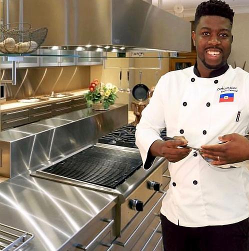 Haiti Chef Coat