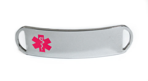 Pink Emblem King Plastic