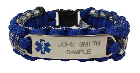 Blue Emblem        Plastic Buckle