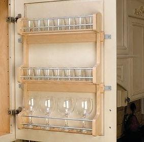Glacier White Cabinet Style