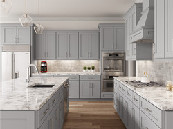 Lait_grey_shaker Kitchen