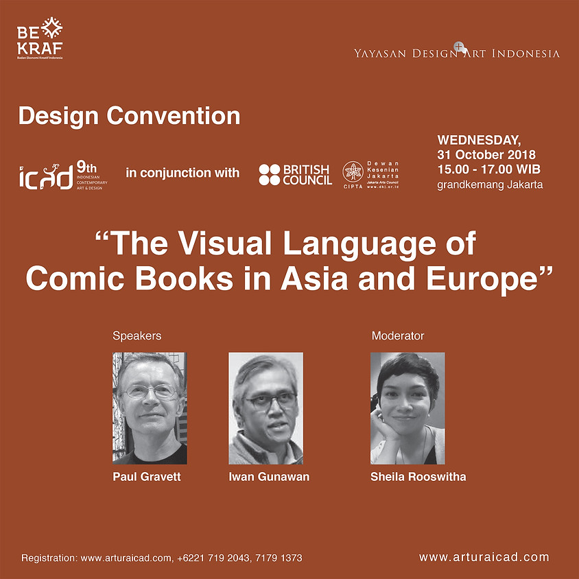Design Convention : The Visual Language of Comic Books in Asia adn Europe