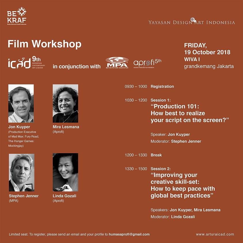 Film Convention: Producer Workshop