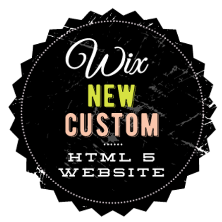 NEW CUSTOM WIX WEBSITE // HTML WIX WEBSITE
