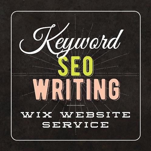 WEBSITE SEO WRITING SERVICE