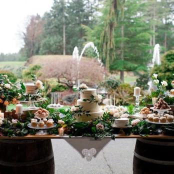WEST COAST WEDDINGS - GORGEOUS GREENERY