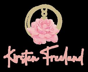 Kirsten-Freeland-Logo Rose with mercury symbol