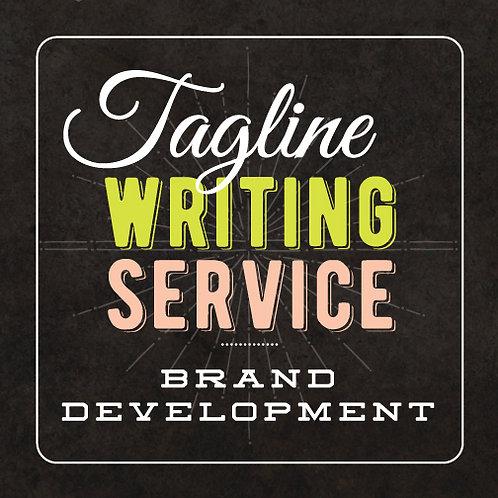 TAGLINE WRITING // BRAND DEVELOPMENT