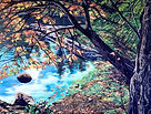 Autumn Reflections 8 x 10 copyright 2021 Lori Morris .jpg