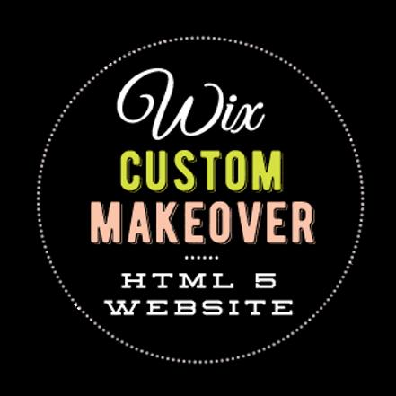 CUSTOM WIX WEBSITE REVAMP/ MAKEOVER  //  HTML WEBSITE