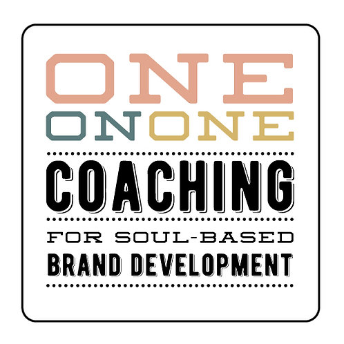 ONE-ON-ONE BRAND DEVELOPMENT COACHING PACKAGE