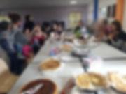 rencontre mensuelle - repas partagé