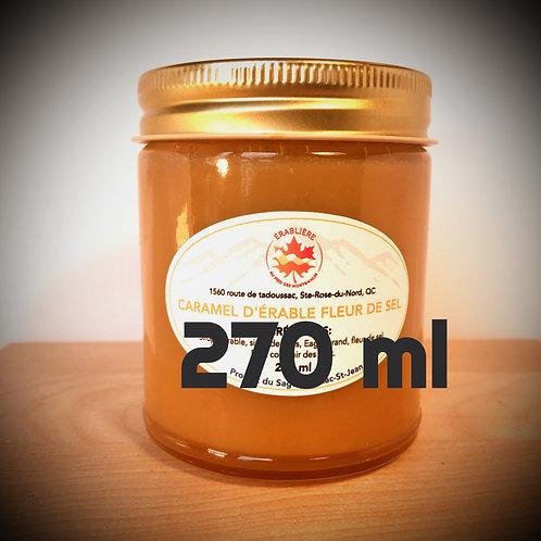 Caramel d'érable à la fleur de sel 270 ml