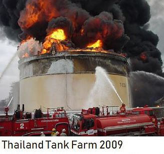 Diesel overspeed på Tank Farm i Thailand i 2009