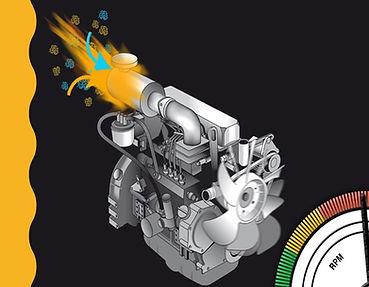 Diesel runaway kan før til antenning og eksplosjon