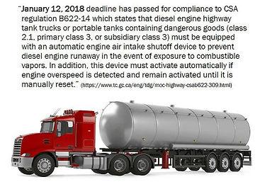 Canada innfører nye reguleringer for å hindre Diesel Runway