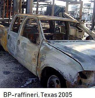 Eksplosjon på BP-raffineri i Texas, 2005