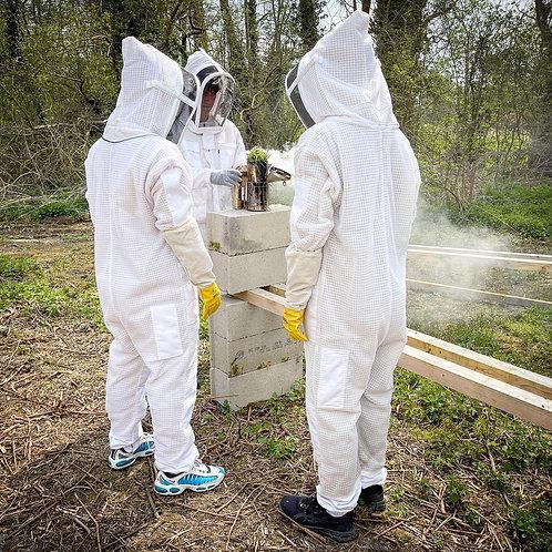 29 Mai 2021 - Demi-journée pédagogique découverte de l'apiculture