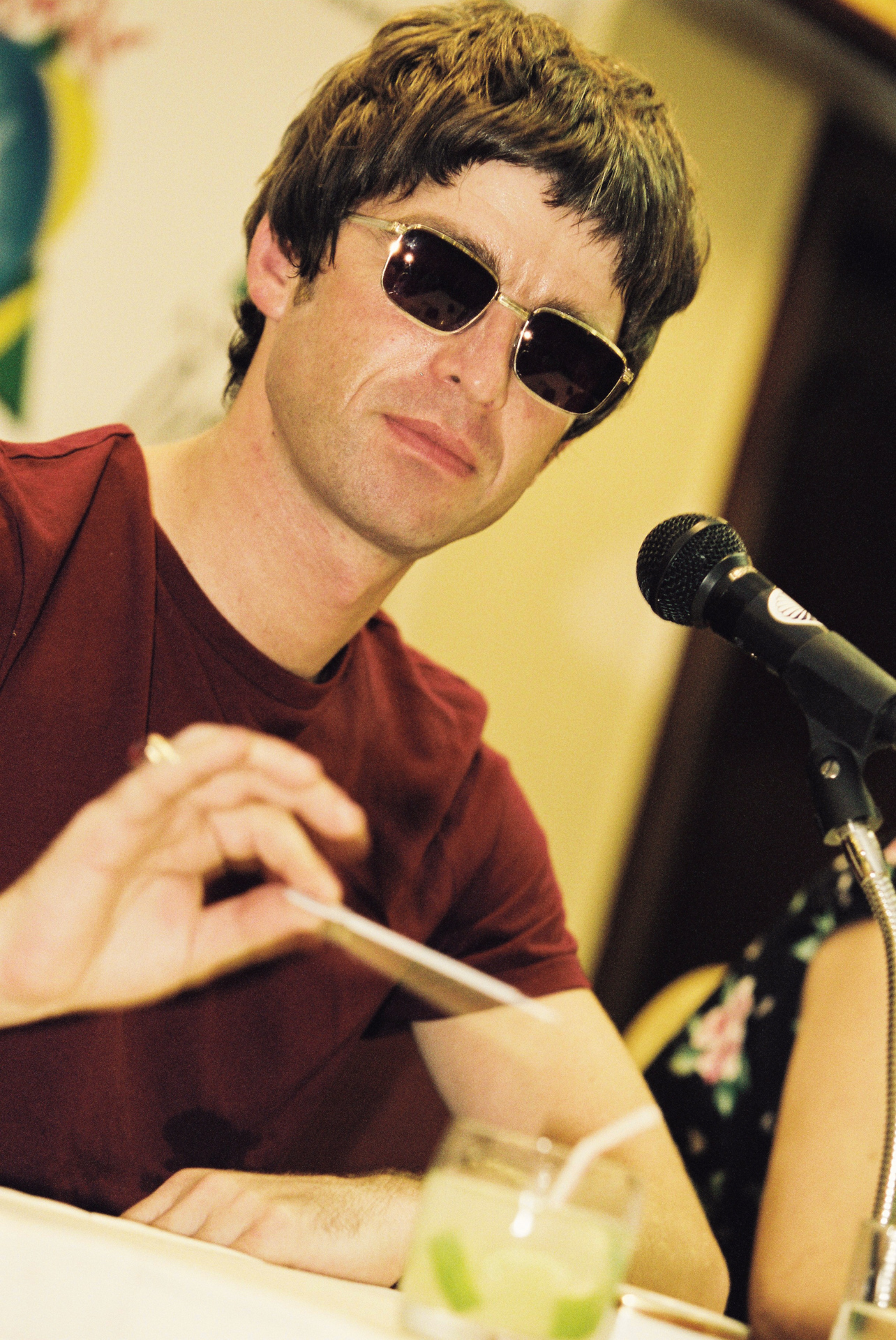 Noel Gallagher COLETIVA RIR 2001