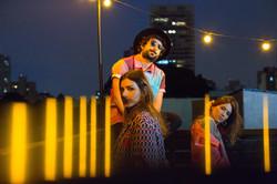 Zeeba, Isadora e DJ Marina Diniz