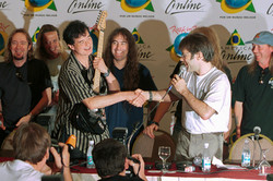 Iron Maiden e Jimmy Page 2001