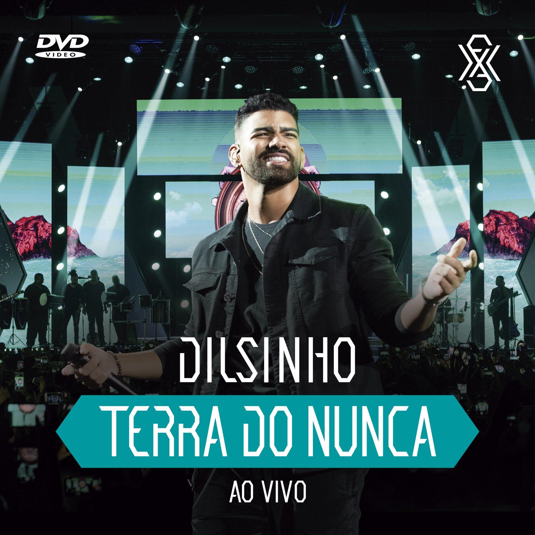 Dilsinho TERRA DO NUNCA dvd