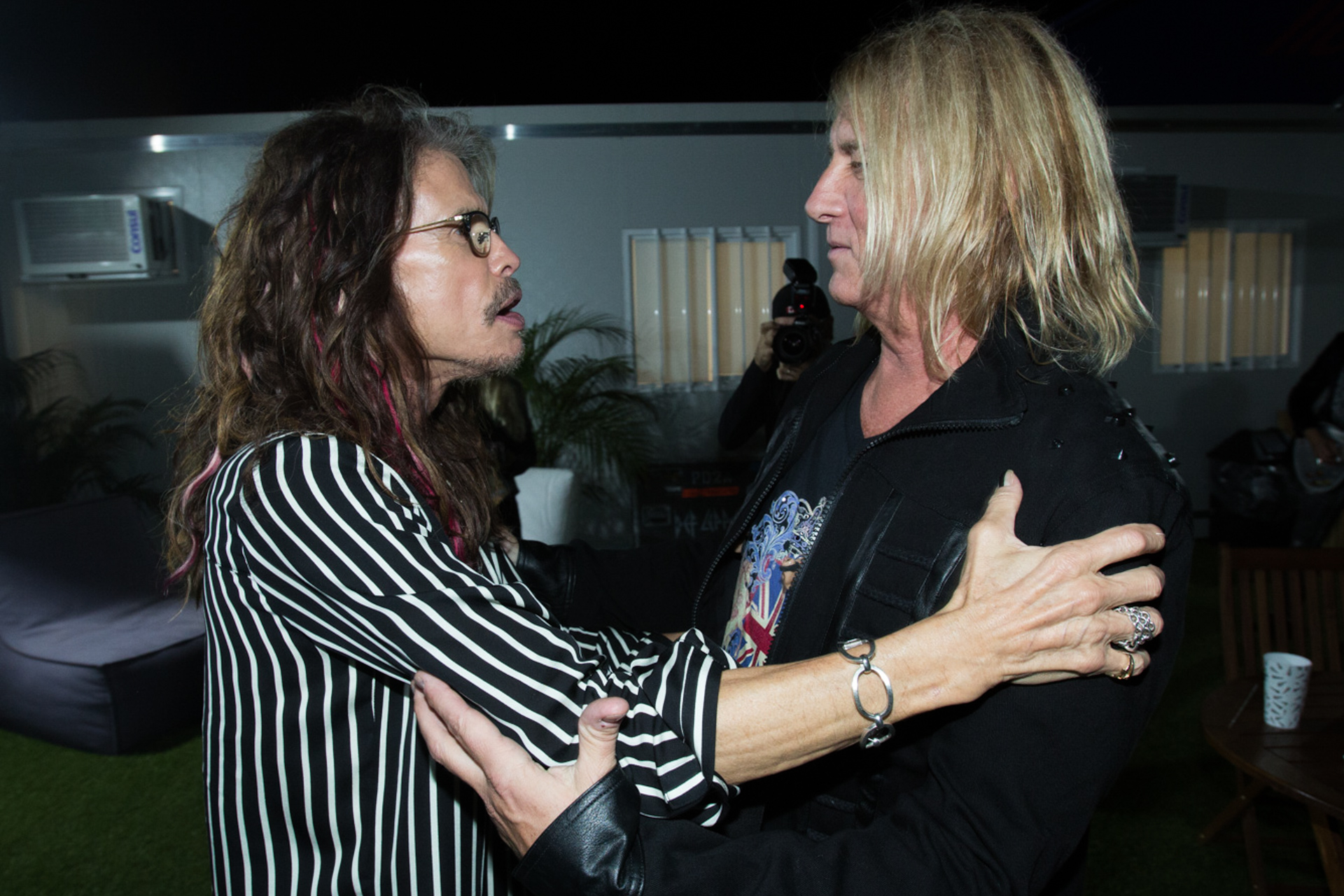 Backstage Def Leppard + Aerosmith